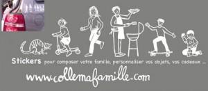bandeau vente flyer Collemafamille