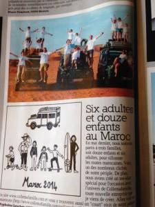 article collemafamille dans Land Magazine