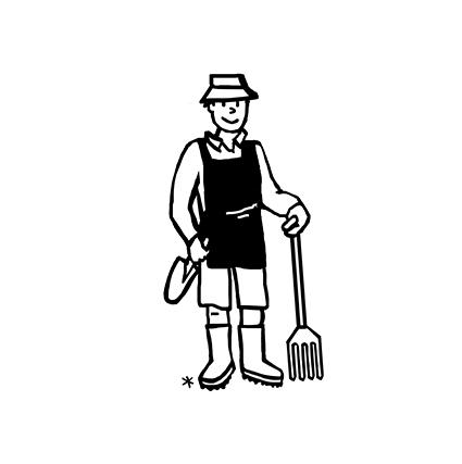 papa jardinier